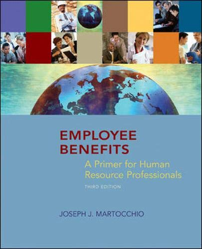 9780073381299: Employee Benefits