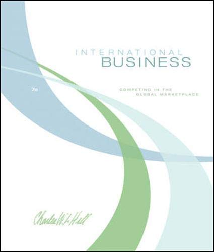 9780073381343: International Business