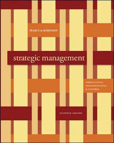 Strategic Management: John Pearce, Richard