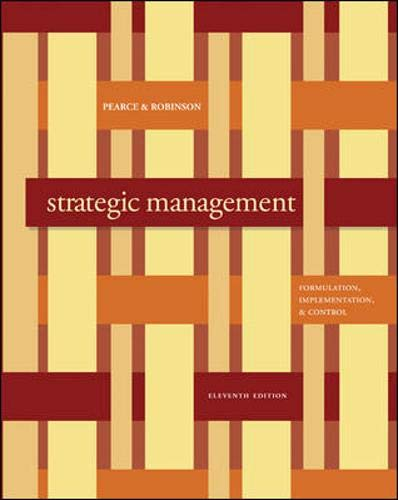 9780073381367: Strategic Management