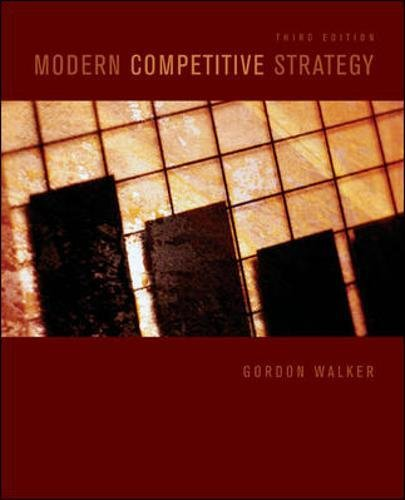 9780073381381: Modern Competitive Strategy