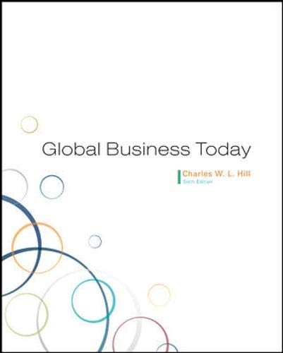 9780073381398: Global Business Today