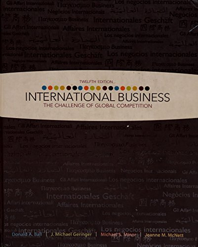 9780073381404: International Business: The Challenge of Global Competition