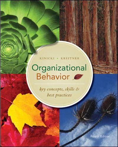 9780073381411: Organizational Behavior: Key Concepts, Skills & Best Practices