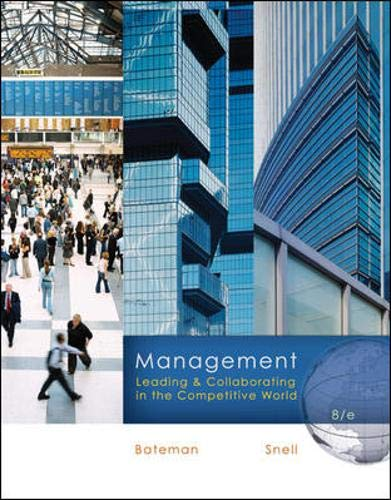 9780073381428: Management: Leading & Collaborating in the Competitive World