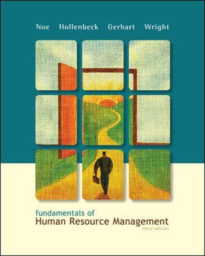 9780073381473: Fundamentals of Human Resource Management