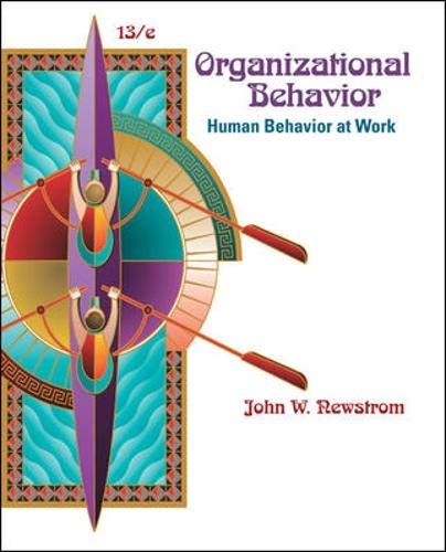 9780073381497: Organizational Behavior: Human Behavior at Work