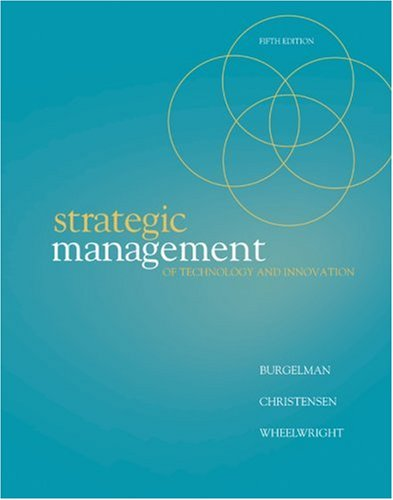 9780073381541: Strategic Management of Technology and Innovation