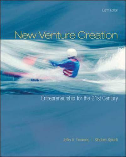 9780073381558: New Venture Creation: Entrepreneurship for the 21st Century