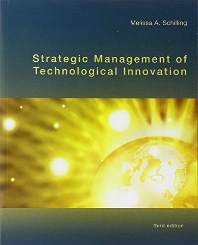 9780073381565: Strategic Management of Technological Innovation