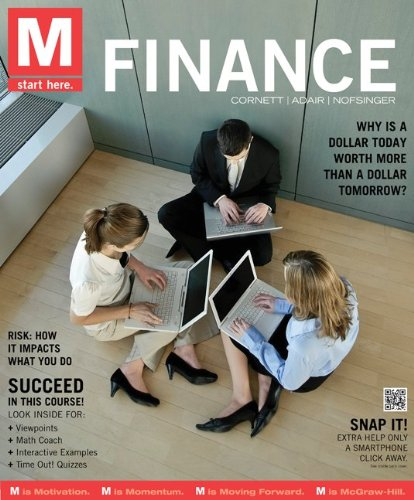 M: Finance: Marcia Cornett, Troy