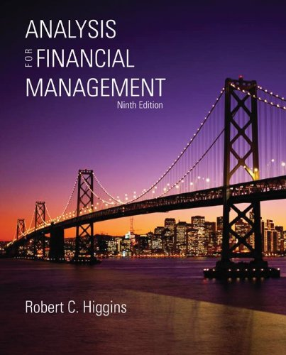9780073382319: Analysis for Financial Management
