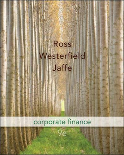 9780073382333: Corporate Finance, 9th Edition