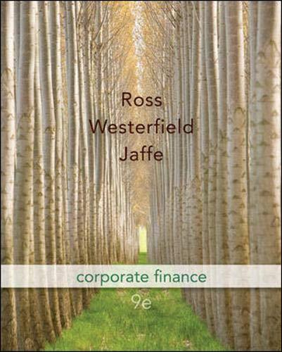 9780073382333: Corporate Finance, 9th Edition