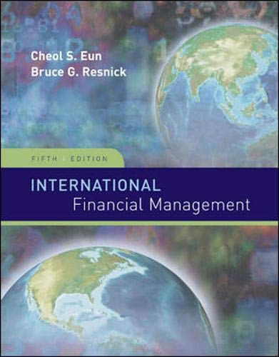 9780073382340: International Financial Management (Irwin/McGraw-Hill Series in Finance, Insurance and Real Estate)