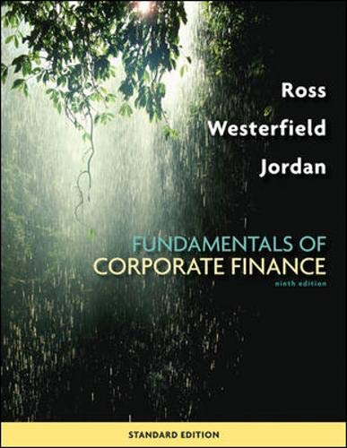 9780073382395: Fundamentals of Corporate Finance Standard Edition