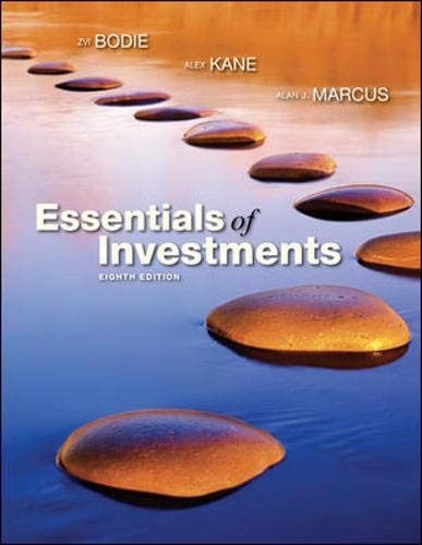 9780073382401: Essentials of Investments (The Mcgraw-Hill/Irwin Series in Finance, Insurance, and Real Estate)