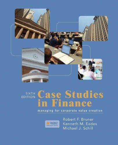 9780073382456: Case Studies in Finance