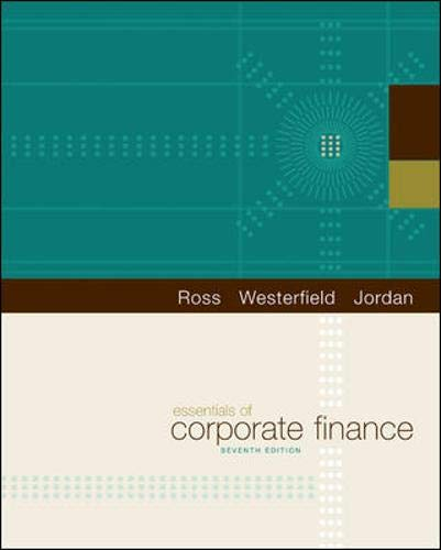9780073382463: Essentials of Corporate Finance (The Mcgraw-Hill/Irwin Series in Finance, Insurance, and Real Estate)