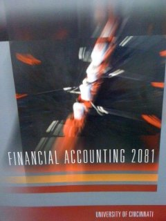 9780073382562: Financial Accounting 2081, Custom for University of Cincinnati