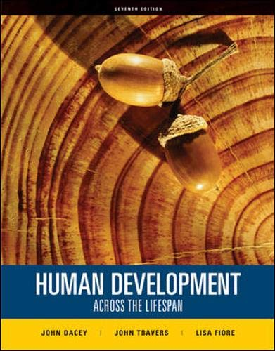 9780073382654: Human Development Across the Lifespan