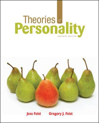 9780073382708: Theories of Personality