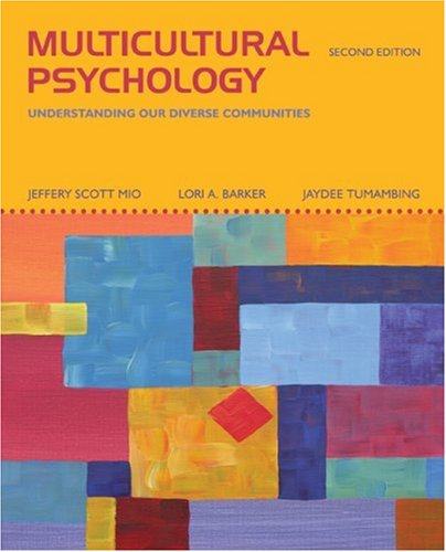 multicultural psychology as a subspecialty of psychology