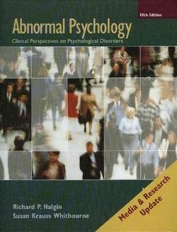 9780073382753: Abnormal Psychology: Clinical Perspectives on Psychological Disorders, Media Update