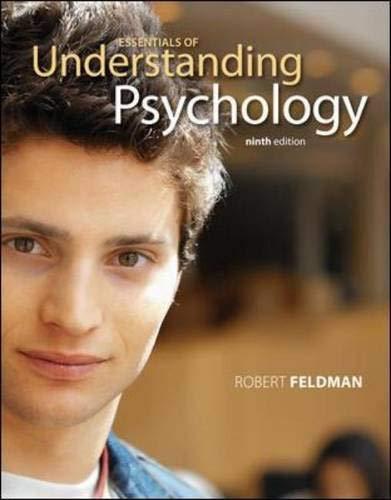 9780073382807: Essentials of Understanding Psychology