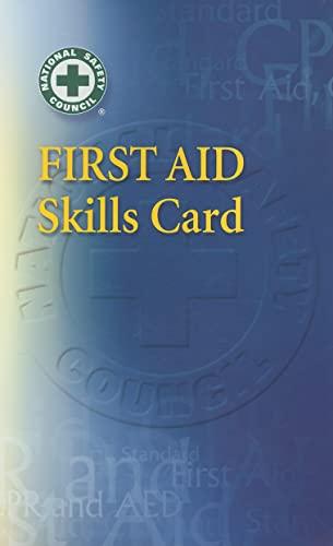 9780073382920: First Aid Skills Card