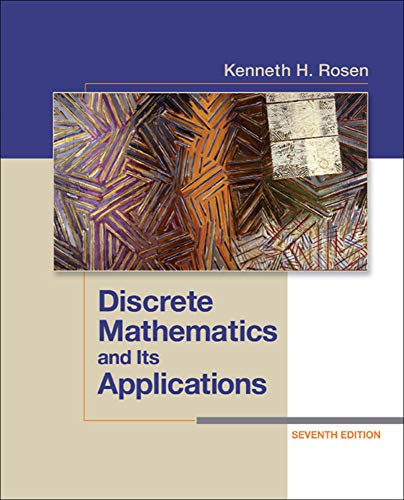 9780073383095: Discrete Mathematics and Its Applications Seventh Edition