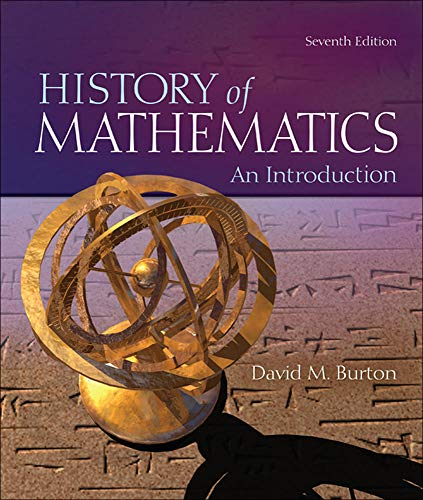 9780073383156: The History of Mathematics: An Introduction