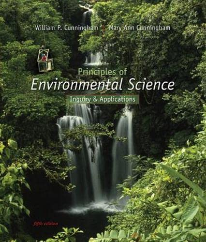 9780073383194: Principles of Environmental Science: Inquiry & Applications