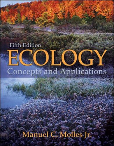 9780073383224: Ecology: Concepts and Applications