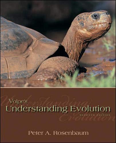 9780073383231: Volpe's Understanding Evolution
