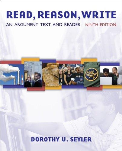 9780073383781: Read, Reason, Write