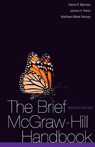 9780073383989: The Brief McGraw-Hill Handbook (McGraw-Hill Handbooks)