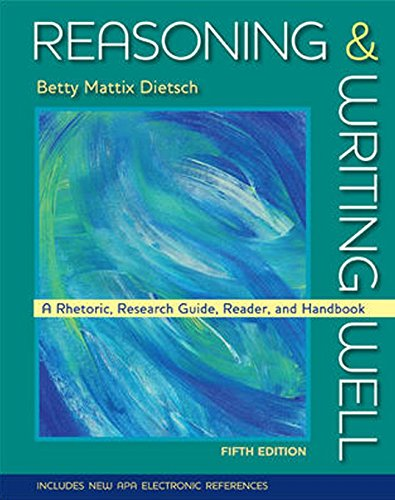 9780073383996: Reasoning and Writing Well
