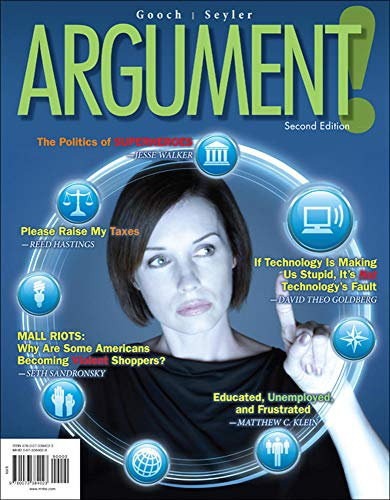 ARGUMENT!: Rhetoric, Gooch Director