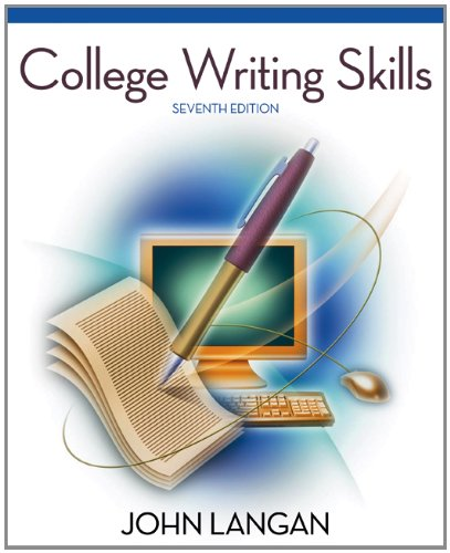 9780073384092: College Writing Skills, 7th Edition
