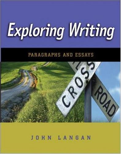 9780073384122: Exploring Writing: Paragraphs and Essays