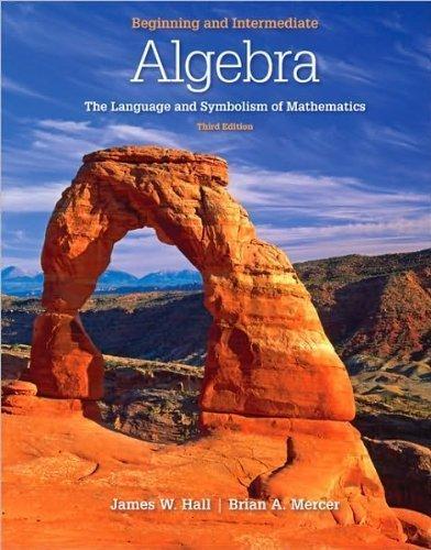 9780073384245: Beginning and Intermediate Algebra : The Language and Symbolism of Mathematics