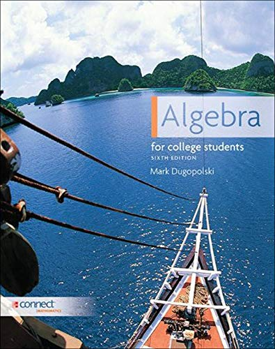 9780073384344: Algebra for College Students, 6th Edition