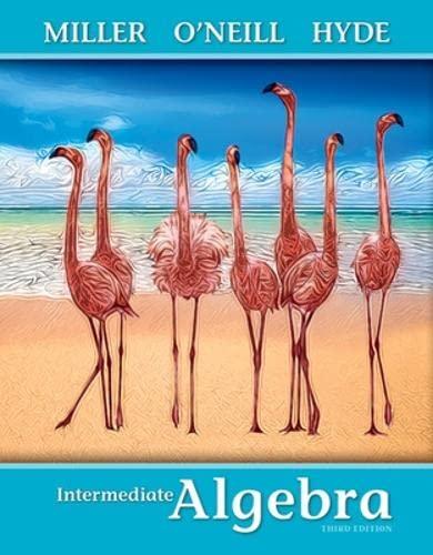 9780073384429: Intermediate Algebra (softcover)