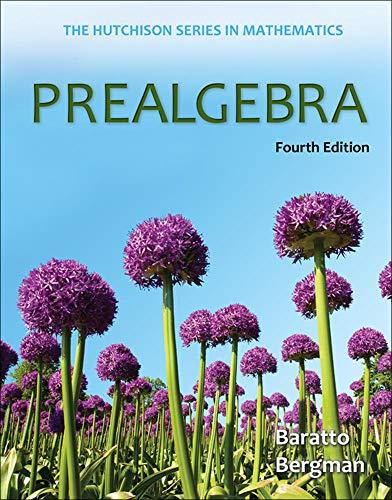 9780073384436: Prealgebra (Mathematics)