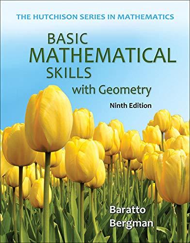 9780073384443: Basic Mathematical Skills with Geometry (Hutchison Series in Mathematics)