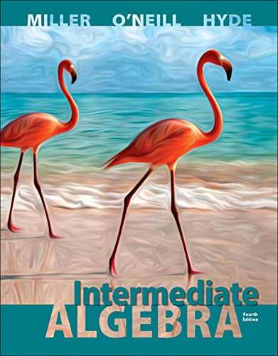 Intermediate Algebra Hardcover: Miller, Julie, O'Neill,