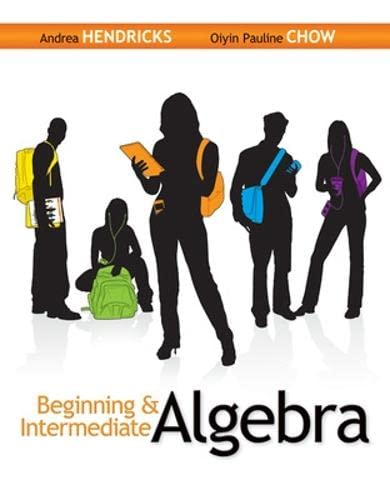 9780073384535: Beginning & Intermediate Algebra
