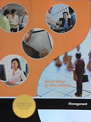 9780073384931: Management (Special Edition for Ohio University)