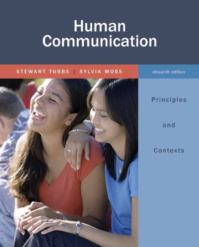 9780073384986: Human Communication: Principles and Contexts